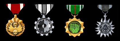 Faction Medals